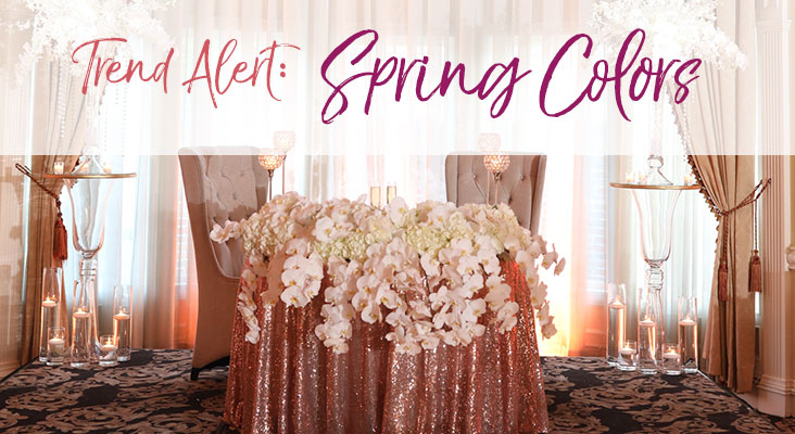 Trend Alert: Spring Colors