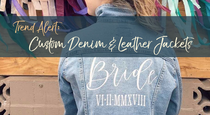 Trend Alert: Custom Denim & Leather Jackets