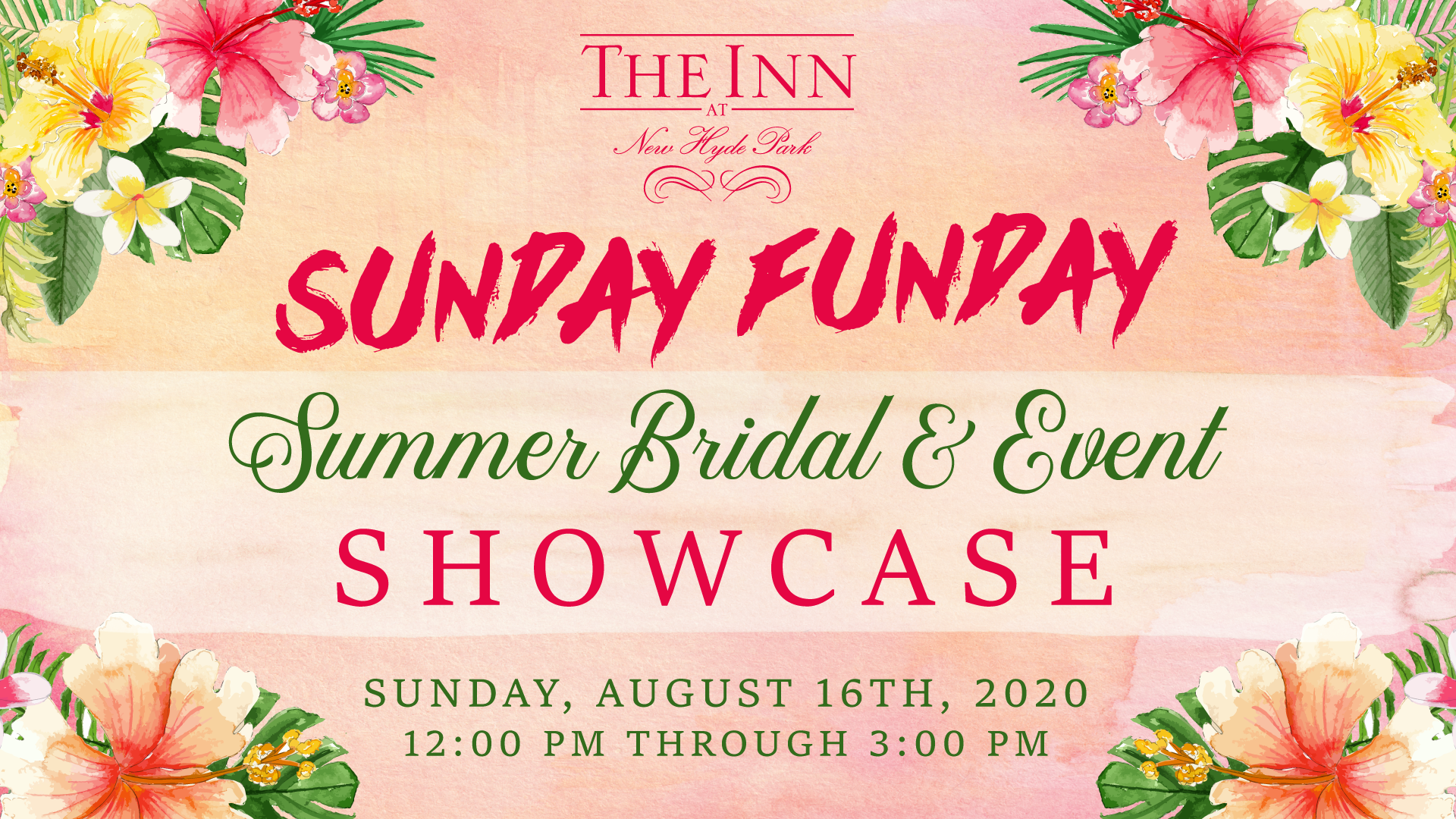 Sunday Funday Summer Bridal and Event Showcase