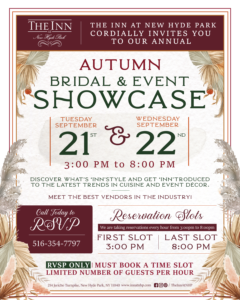 Autumn Bridal Showcase Sept 21 and 22nd